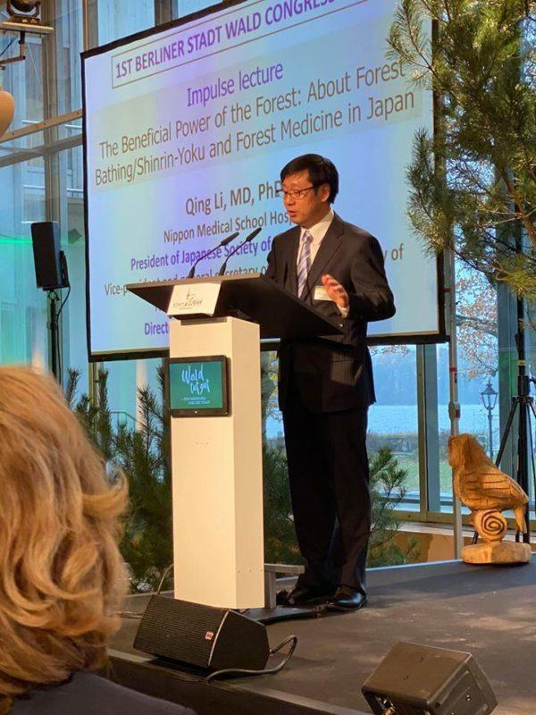 Prof. Dr. Qing Li, Waldmediziner